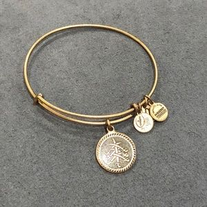 Alex and Ani SEVEN SWORDS Russian Gold Charms